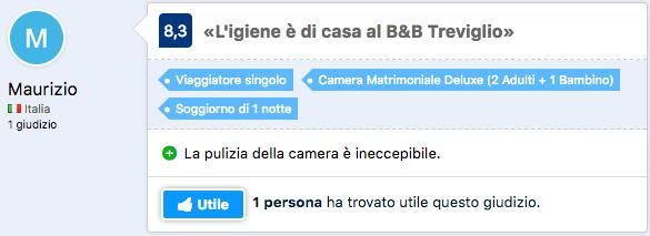 recensioni b&B Treviglio
