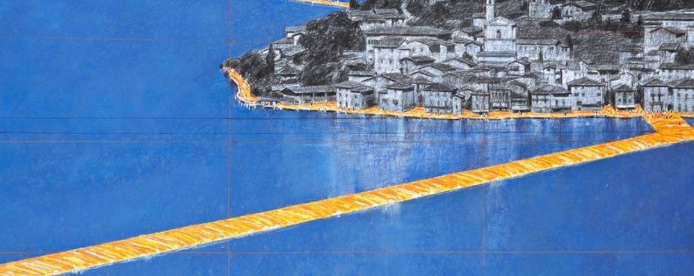 The Floating Piers la passerella di Christo