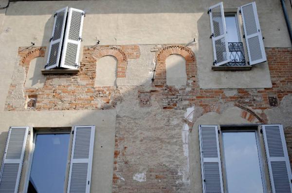 Casa della piazza a Treviglio