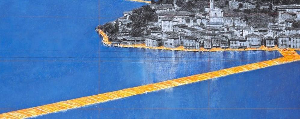 The Floating Piers la passerella di Christo